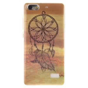 IMD Soft TPU Gel Phone Back Case for Huawei Honor 4C - Dream Catcher