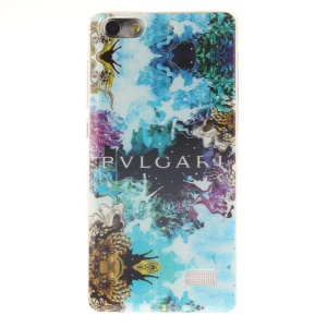 IMD Soft TPU Gel Phone Protective Case for Huawei Honor 4C - Abstract Painting