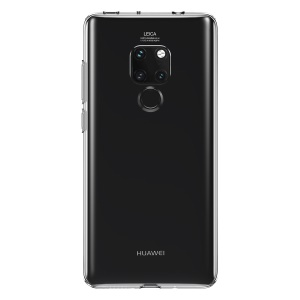 BASEUS Simple Series Clear TPU Phone Case for Huawei Mate 20 - Transparent