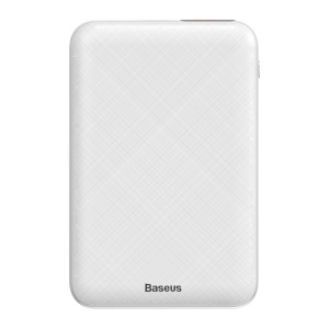 BASEUS Mini Digital Display 10000mAh PD Power Bank with Dual Input/Outout  - White