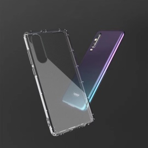 Drop-proof Clear TPU Mobile Phone Case for Huawei P30