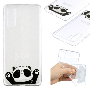 Pattern Printing TPU Back Case for Huawei P30 Pro - Cute Panda