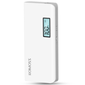 ROMOSS Sense 4 Plus 10400mAh LCD Display Power Bank for iPhone Samsung Pokemon Game