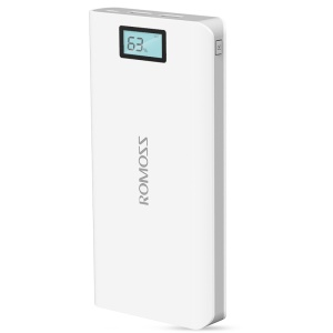 ROMOSS Sense 6 Plus 20000mAh 2.1A LCD Display Power Bank for iPhone Samsung Pokemon Game