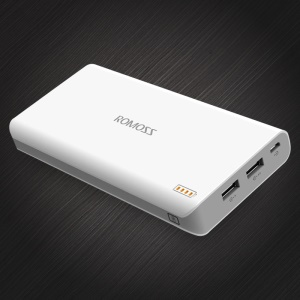 ROMOSS Sense 6 20000mAh 2.1A Power Bank for iPhone Samsung Pokemon Game
