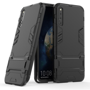 Cool Guard Kickstand PC TPU Hybrid Case for Huawei Honor Magic 2 - Black