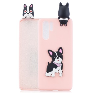 3D Pattern Soft TPU Mobile Cover for Huawei P30 Pro - Dog