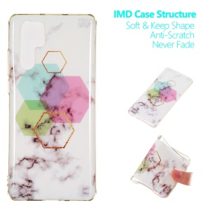[Marble Pattern] IMD TPU Phone Case for Huawei P30 Pro - Style A