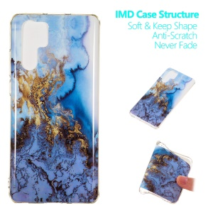 Marble Pattern IMD TPU Soft Protective Back Shell for Huawei P30 Pro - Style I