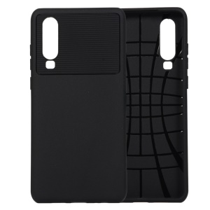 Armour Series Soft TPU Back Protection Case for Huawei P30 - Black
