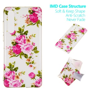 Luminous Glow Pattern Printing TPU Case for Huawei P30 - Vivid Flowers