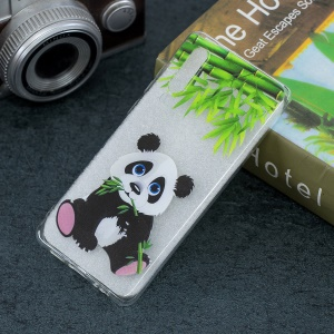 Pattern Printing Soft TPU Cell Phone Shell for Huawei P30 - Panda