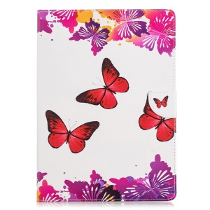 Red and Purple Butterflies