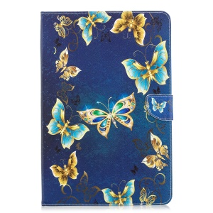 Gold and Blue Butterflies