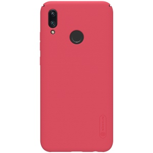 NILLKIN Für Huawei P Smart (2019) Super Frosted Shield PC-Hardcover - Rot