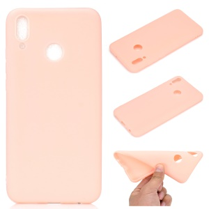 Soft Matte TPU Gel Cell Phone Cover for Huawei Honor 10 Lite / P Smart (2019) - Pink