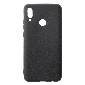 Skin-touch Matte TPU Protection Case for Huawei P Smart (2019) - Black
