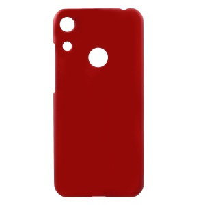 Rubberized Hard Plastic Phone Case for Huawei Honor 8A - Red