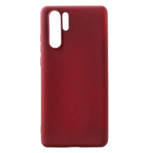 Skin-touch Matte TPU Protection Case for Huawei P30 Pro - Wine Red