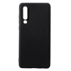 Skin-touch Matte TPU Protective Phone Cover for Huawei P30 - Black