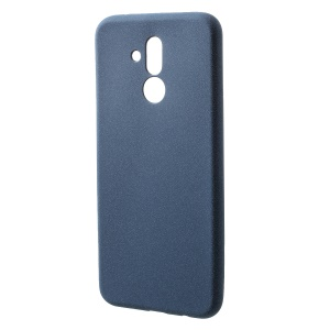 Skin-touch Matte TPU Cell Phone Cover for Huawei Mate 20 Lite - Dark Blue