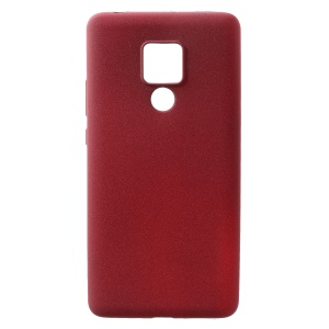 Skin-touch Matte TPU Protective Case for Huawei Mate 20 X - Red