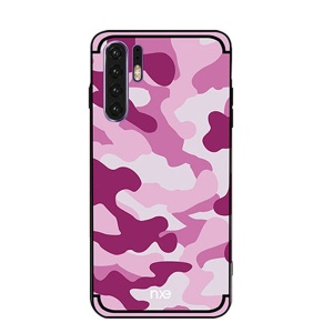 NXE Camouflage Pattern PC TPU Hybrid Case for Huawei P30 Pro - Pink