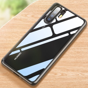 ROCK Crystal Clear Case for Huawei P30 Pro TPU + PC Hybrid Phone Cover - Black