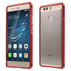 Aluminium Alloy Frame for Huawei P9 with Hippocampal Buckle - Red
