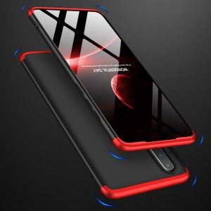 GKK Detachable 3-Piece Matte Hard PC Case for Huawei P30 - Red / Black
