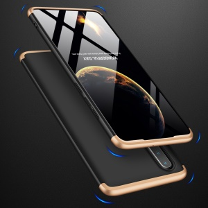 GKK Detachable 3-Piece Matte Hard PC Case for Huawei P30 - Gold / Black