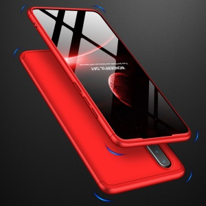 GKK Detachable 3-Piece Matte Hard PC Case for Huawei P30 - Red