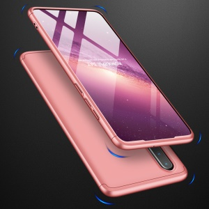 GKK Detachable 3-Piece Matte Hard PC Case for Huawei P30 - Rose Gold