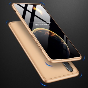 GKK Detachable 3-Piece Matte Hard PC Case for Huawei P30 - Gold