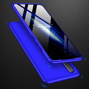 GKK Detachable 3-Piece Matte Hard PC Case for Huawei P30 - Blue