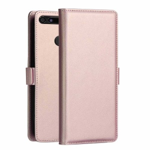 DZGOGO [Milo Series] PU Leather Wallet Case for Huawei Honor View 20 / Honor V20 (China) - Pink