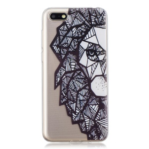 Pattern Printing TPU Case for Huawei Y5 (2018) - Abstract Animal