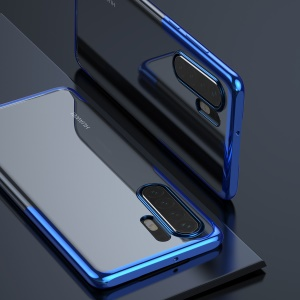 BASEUS Shining Series Plated TPU Case for Huawei P30 Pro - Blue