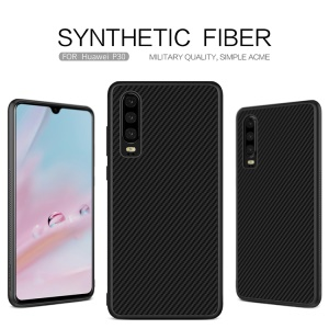 NILLKIN Synthetic Fiber PC TPU Combo Phone Cover for Huawei P30