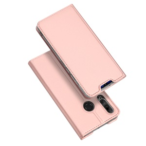 DUX DUCIS Skin Pro Series Stand Leather Flip Case for Huawei P Smart+ 2019 / Enjoy 9s/ Maimang 8 / nova 4 lite / Honor 10i - Rose Gold