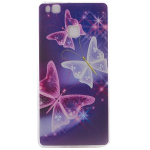 Slim TPU Case for Huawei P9 Lite - Vivid Butterflies