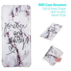 Marble Pattern IMD TPU Case Accessory for Huawei P30 Lite / nova 4e - Style G
