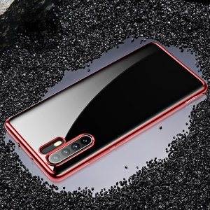 USAMS Kingdom Series Electroplated Soft TPU Case for Huawei P30 Pro - Red