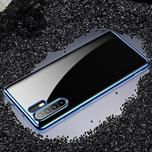 USAMS Kingdom Series Electroplated Soft TPU Case for Huawei P30 Pro - Blue