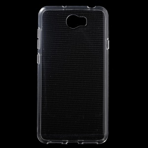Transparent TPU Phone Back Case for Huawei Y5II / Y5II - Transparent