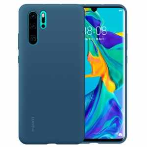 HUAWEI Liquid Silicone Silky Feel Shell Case for Huawei P30 Pro - Blue