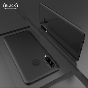 X-LEVEL Guardian Series Ultra-thin Frosted TPU Phone Cover for Huawei P30 Lite/nova 4e - Black