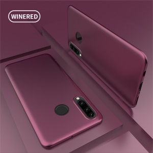 X-LEVEL Guardian Series Ultra-thin Frosted TPU Phone Cover for Huawei P30 Lite/nova 4e - Wine Red