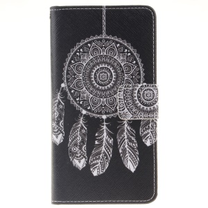 Magnetic Leather Stand Case for Huawei P9 Lite - Dream Catcher