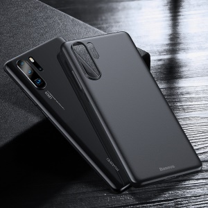 BASEUS Ultra-thin 0.4mm Matte PP Mobile Phone Cover for Huawei P30 Pro - Black